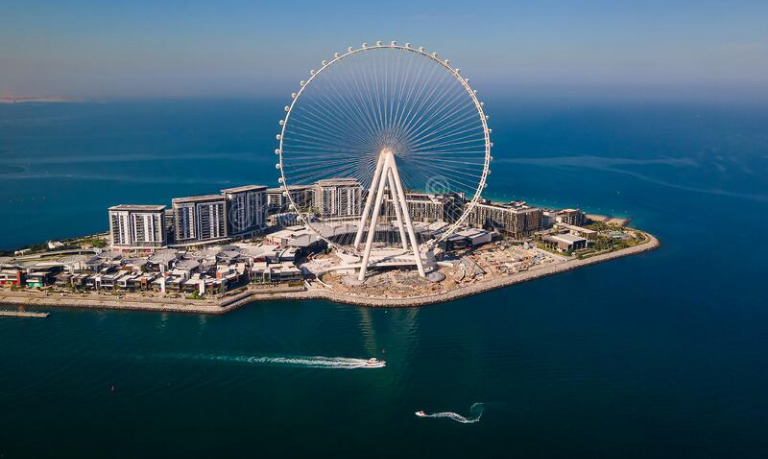 В Дубае откроют самое высокое колесо обозрения в мире «Глаз Дубая»