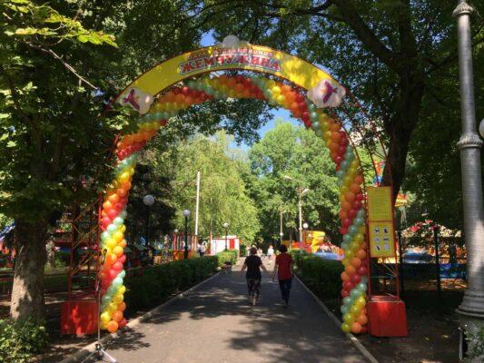 Новый парк аттракционов открыли в Липецке