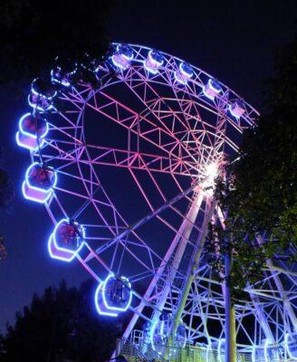 Колесо обозрения парк горького пермь